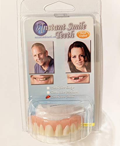 Brand New Fake Novelty Small Instant Smile Straight White Perfect Veneer Teeth