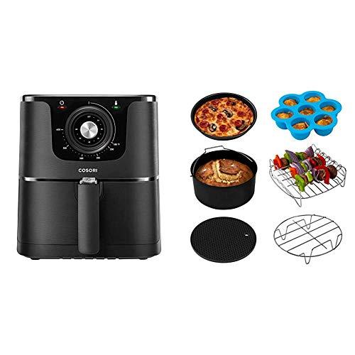 COSORI Air Fryer, Max XL 5.8-Quart, 1700-Watt Electric Hot Air Fryer Oven Oilless Cooker With Deluxe Temperature Knob…