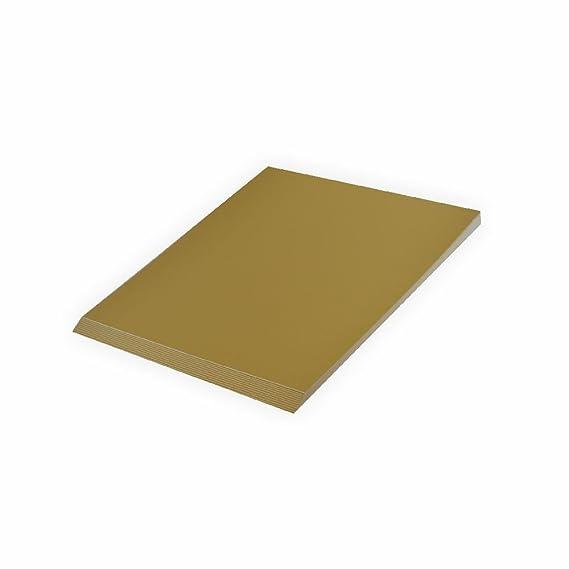 Tonpapier 130 g A4 20 Blatt Gold glänzend