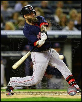 Mike Napoli 2014 Action Art Poster PRINT Unknown 8x10 -