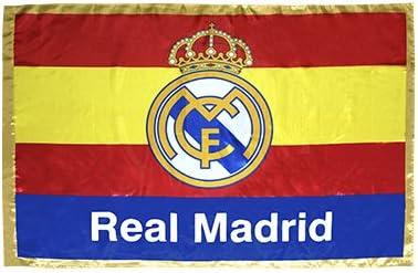 FUTBOL Bandera del Real Madrid España: Amazon.es: Deportes y aire libre