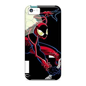 First-class Case Cover For Iphone 5c Dual Protection Cover Spiderman Unlimited