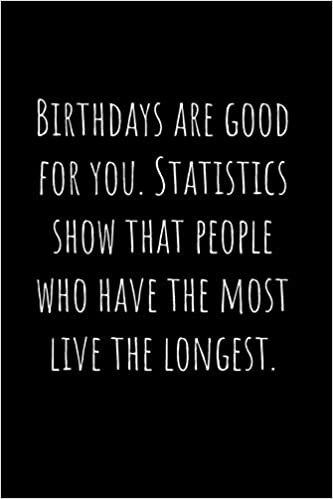 Instant Download Statistics Show That People Who Have More Birthdays Live Longer