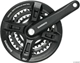 Shimano Altus 7/8 Speed Mountain Bicycle Crankset - Black - FC-M311