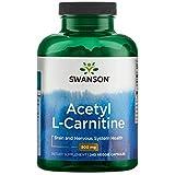Cheap Swanson Acetyl L-Carnitine 500 Milligrams 240 Veg Capsules