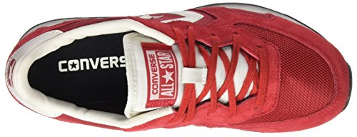 Converse Herren Auckland Racer Distressed Ox Sneakers Rot (Chili Pepper/tango Red/buff)