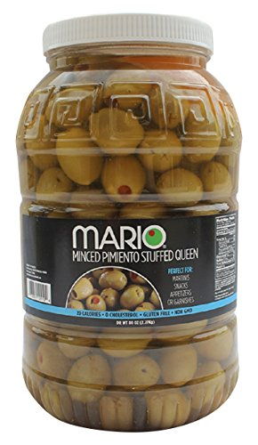 Mario Camacho Foods Martini Queen Olives Stuffed with Minced Pimiento