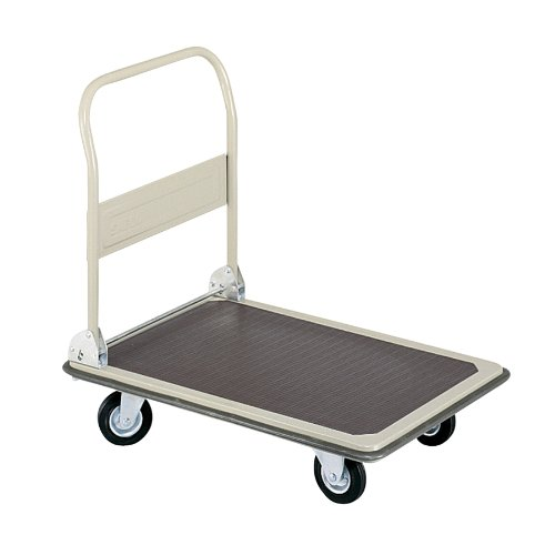 Safco Products 4077 Fold Away Small Platform Utility Hand Truck, Tropic Sand by Safco Products