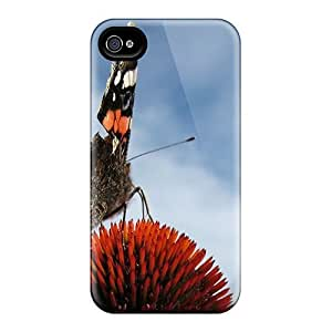 For iphone 6 Tpu Phone Case Cover(colourful Butterfly)