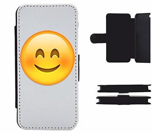 """Cuir Téléphone Case Samsung Galaxy S6 """"Visage souriant aveclesyeuxensouriant"""", probablement la plus belle protection du smartphone de tous les temps."""
