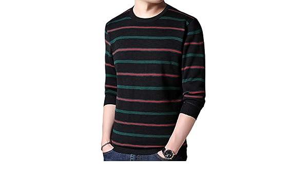 Andopa Mens Warm Turtleneck Silm Knitted Leisure Polo Top Tshirt