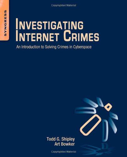 Investigating Internet Crimes Front Cover
