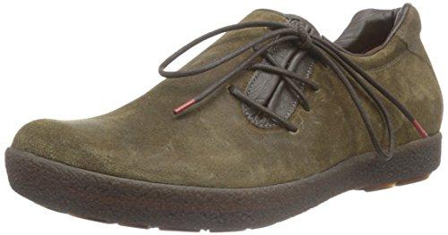 Think Geoag - Zapatos de cordones para hombre Marrón (espresso/kombi 42)