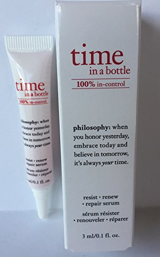 Philosophy Time In A Bottle 100% In Control: Deluxe Travel Size .1 ounce