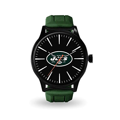 Q Gold Gifts Watches NFL New York Jets Cheer Watch by Rico Industries