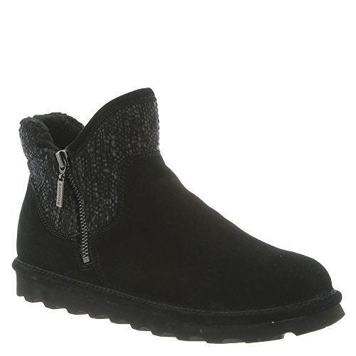 BEARPAW Boots Josie M Suede 5 Women's Black Rubber 4E4Tqxfwr