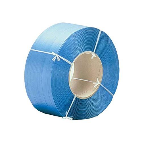 Pack de 2 Feuillards Polypropylène (PP) standard 15,5mm/0.55 c/2 500 m/Ø200 Bleu - TIGGRE.FR