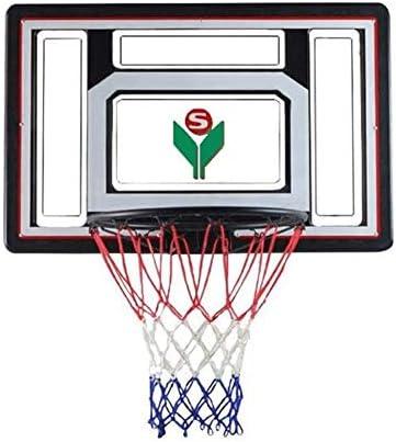 バスケットゴール バスケツトゴール バスケ ゴール バスケットボールフープ、中学生バスケットボールボード、フープバックボードセットのスポーツゲームのプレイセットのウォールマウント屋内屋外の家庭用90x60cmバスケットリング直径45センチメートルバスケットボールシステム 室内 屋外用