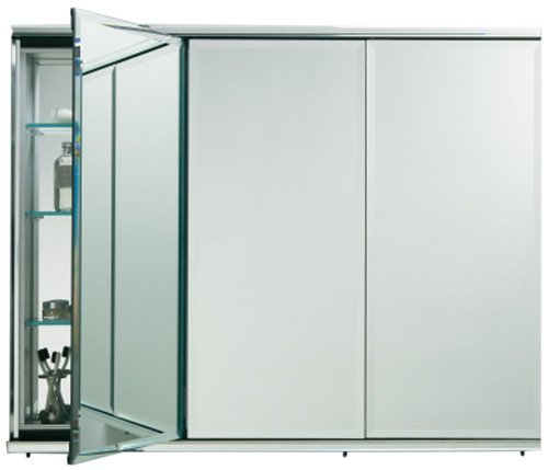 Robern CB-TFC3638E  C-Series 3-Door Medicine Cabinet with Outlets by Robern