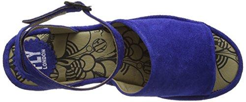 Amazon Barato en línea Mejores tratos Fly London Mujeres Booz636fly Durchgängies Sandalias Meseta Azul (azul 001) AQia02