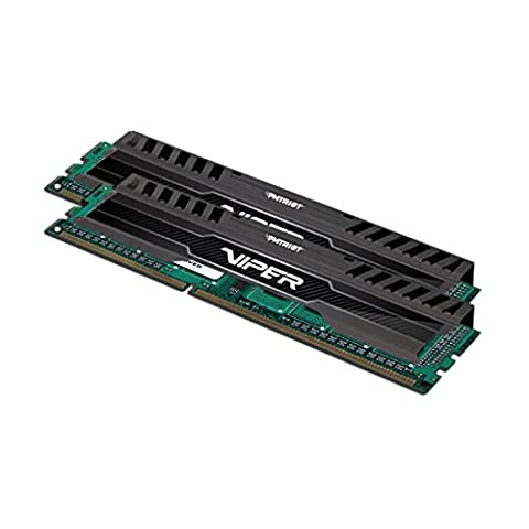 Patriot PV316G160C0K 16GB(2x8GB) Viper III DDR3 1600MHz (PC3 12800) CL10 Desktop Memory With Black Mamba - Line Dimm Memory
