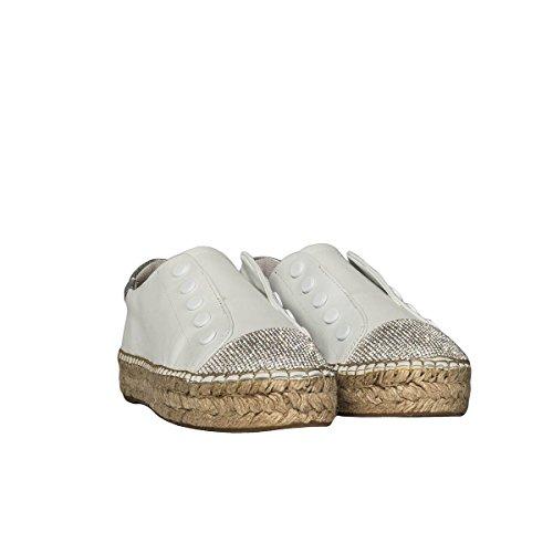 Leder KKJUNIPER203SOFT On Damen Weiss Slip Kendall Sneakers Kylie xUEqYwI