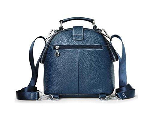 SHFANG Bolso de la señora / bolso de la manera / bolso del mensajero del ocio, haciendo compras / trabajo / viaje, pequeña capacidad, bolso de mano , sq009 elephant rice white sq009 elephant pattern blue