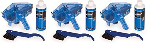 Park Tool CG-2.3 Chain Gang Chain Cleaning System Blue, One Size (3 Kits) by Park Tool (Image #2)