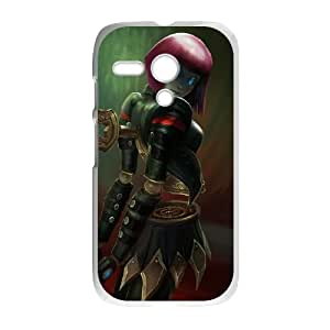 Motorola G Cell Phone Case White League of Legends Bladecraft Orianna LM5641907