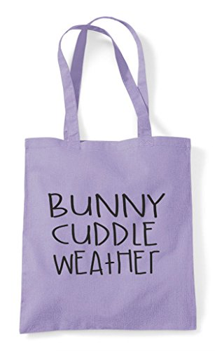 Bag Weather Cute Bunny Pet Lavender Animal Cuddle Funny Tote Themed Shopper 1ffZHqw