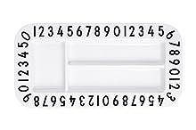 Design Letters - Melamine Snack Plate - Rectangular