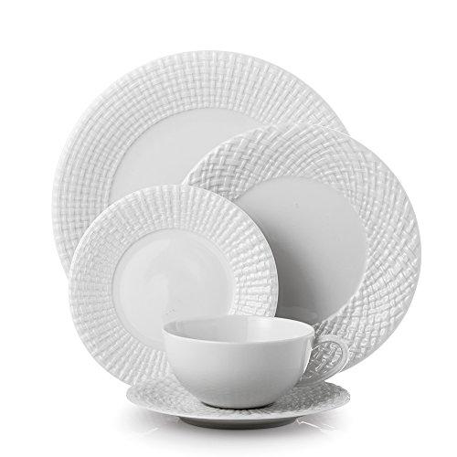 Setting Porcelain Place - Michael Aram, Palm 5-Piece Place Setting Porcelain
