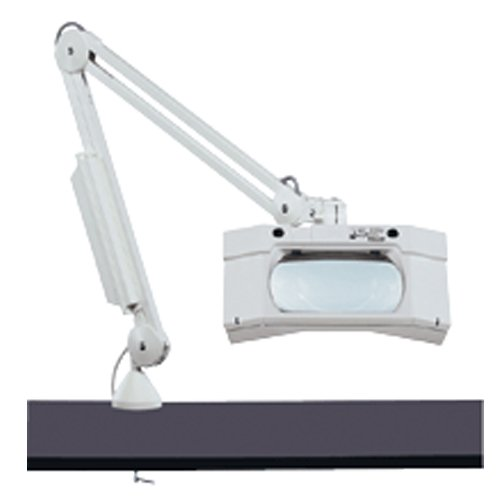 JSP Magnifier Lamp Desk, 80 LED, 3 Diopter, 110/220V