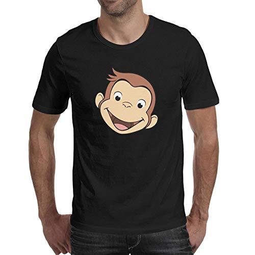 Migny Hills Men's Comfortable Short Sleeve T-Shirt Cotton Crew Neck Cotton Shirt for - Curio Hill