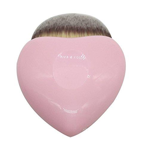 BeautyPatio Heart Shaped Powder Foundation Cosmetic Face Cheek Makeup Brush #1