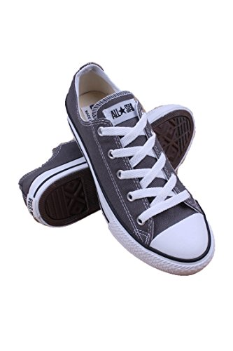Free Converse Boys' All Star Ox - Charcoal - 3
