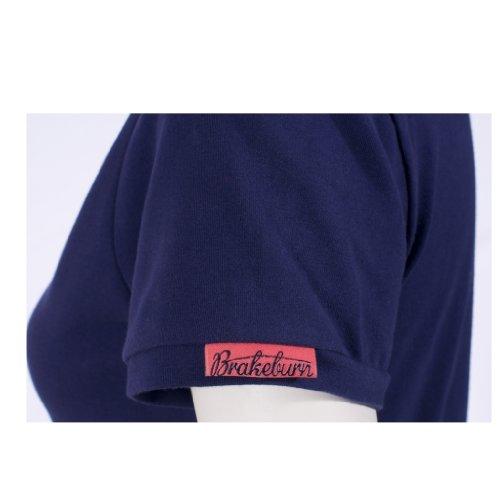 Brakeburn WOMENS DAISY POLO SHIRT, colore: blu navy