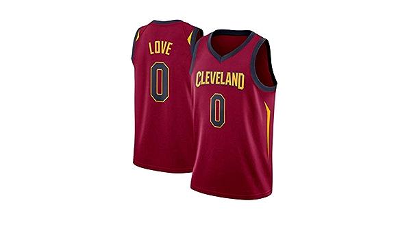 FOKN Jersey De Baloncesto for Hombre Camiseta Kevin Love # 0 ...