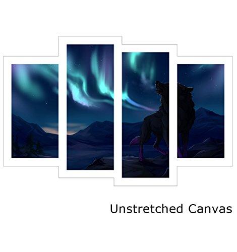 Design A Colorful Northern Lights Landscape in US - 7