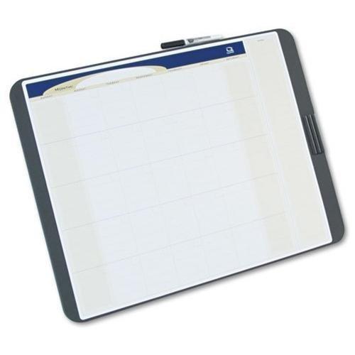 (QRTCT2317 - Quartet Designer Tack Write Erasable Monthly Calendar)