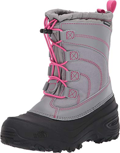 The North Face Toddler/Little Big Kids Alpenglow IV Boot, Frost Grey/Mr. Pink, 12 Little Kid