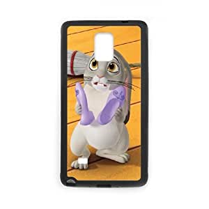 Samsung Galaxy Note 4 Cell Phone Case Black Disney Sofia the First Character Clover uwbs