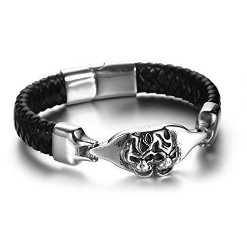 AMDXD Jewelry Stainless Steel Bracelet for Men Punk Bracelet Bracelet Men Hippie (Dolce Gabbana Bracelets Gold)