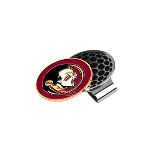 LinksWalker NCAA Florida State Seminoles Golf Hat Clip with Ball Marker