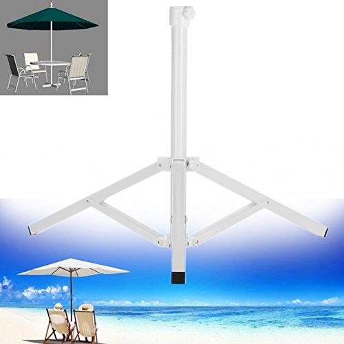 KINGSO Foldable Umbrella Stand Patio Umbrella Stand Umbrella Base Beach Umbrella Stand