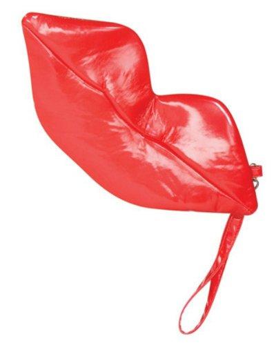 Rasta Imposta Lips Wristlet, Red, One