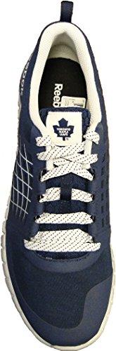 Reebok ZQuick NHL Series Toronto Maple Leafs Running Shoe 12 Blue-White