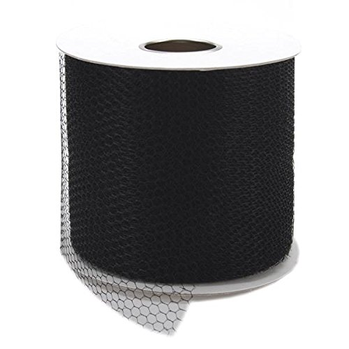 falk-201-17-12493-net-mesh-spool-3-inch-by-40-yard-black