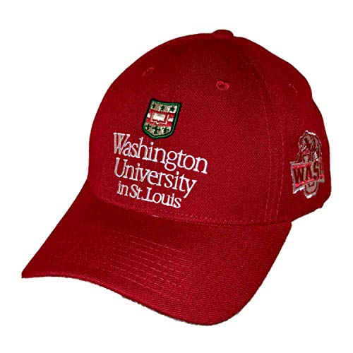 Louis University Baseball - Washington University in St. Louis WUSTL Bears Adjustable NCAA Baseball Cap Hat Red
