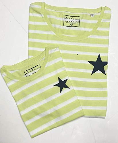 PACK Camisetas M/C Estrellas (Adulto + Niño/Niña): Amazon.es ...
